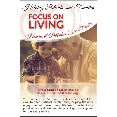 Hospice and Palliative Care Month Flyer