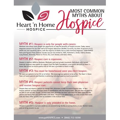 Most Common Myths About Hospice